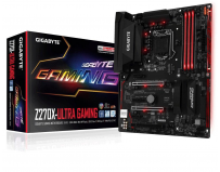 Placa de baza Gigabyte Socket LGA1151, Z270X-Ultra Gaming, Z270, Integrated in CPU + PCI-E 3.0 x16,